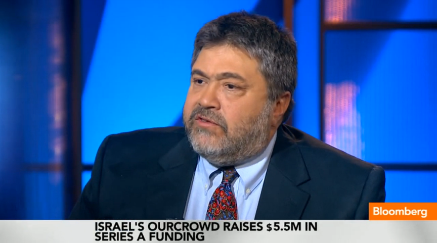 OurCrowd's Jon Medved on Bloomberg TV, discusses investing in Start-up Nation