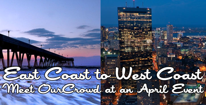 OurCrowd Events in the US – April 2013