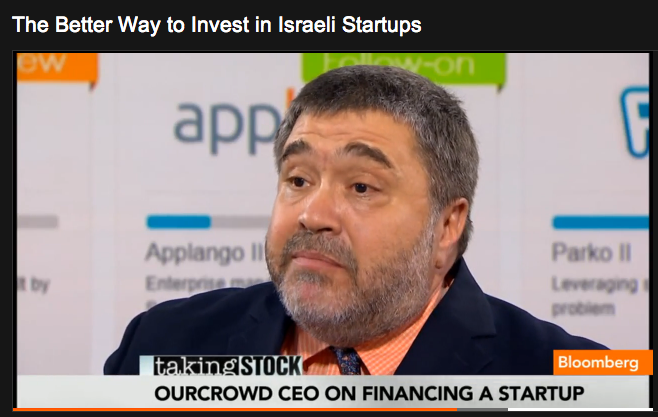 The media wants to know about crowdfunding: OurCrowd's Jon Medved makes the rounds