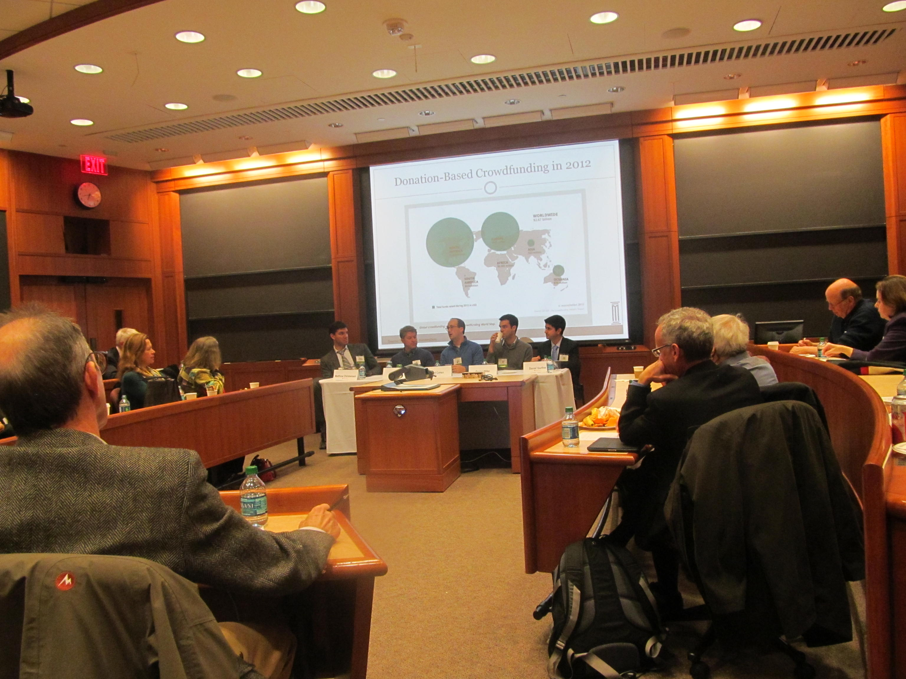 crowdfunding panel at HBS