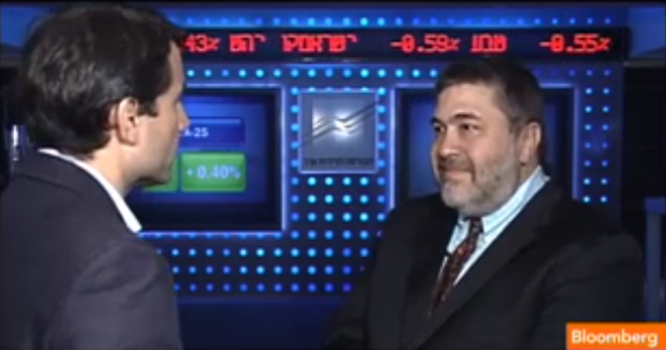 OurCrowd's Jon Medved On Bloomberg TV: Israeli Tech Sector Never Been Better