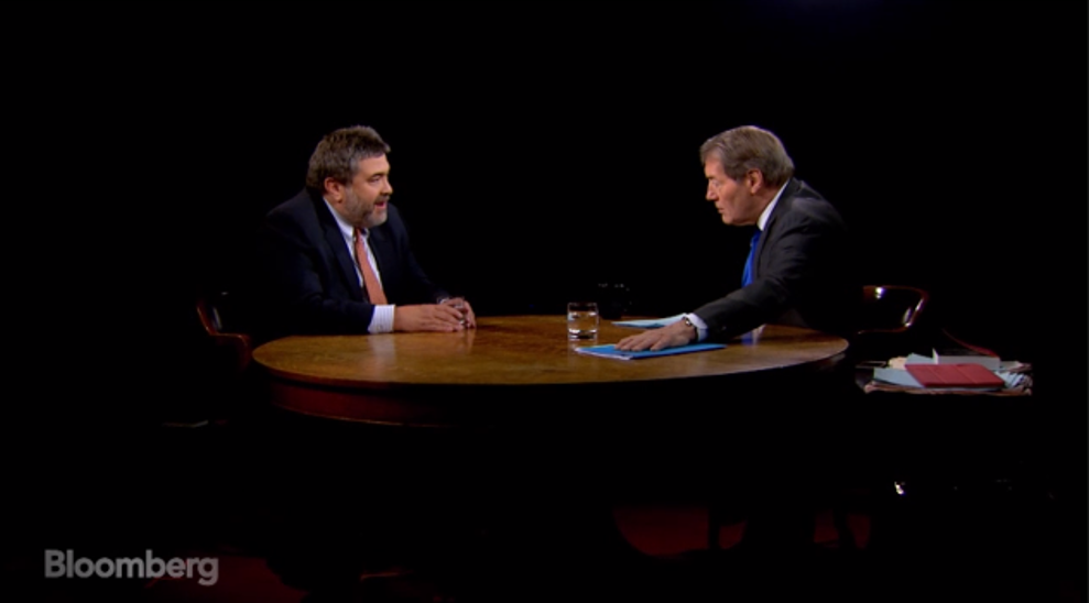 "OurCrowd CEO Jon Medved on Bloomberg TV's ""Charlie Rose"""