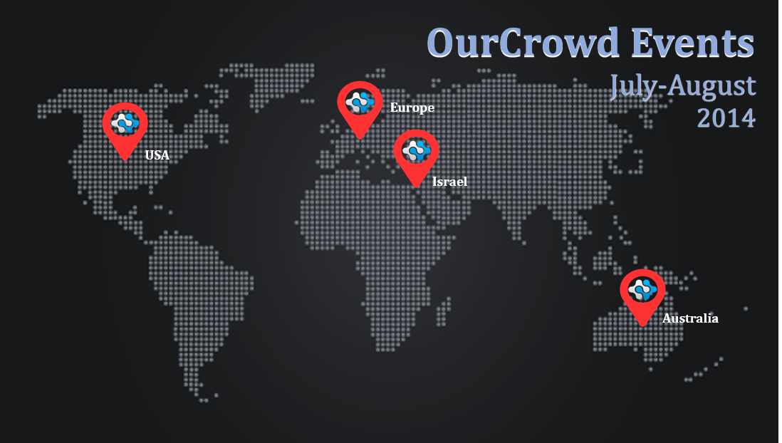 OurCrowd Events July-August