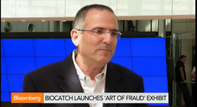 OurCrowd's portfolio company BioCatch featured on Bloomberg TV
