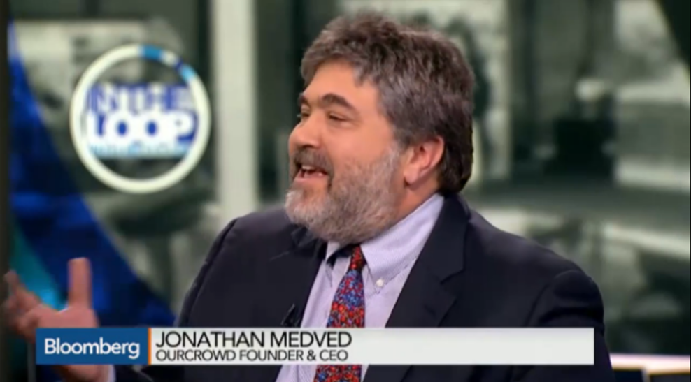"OurCrowd CEO Jon Medved on Bloomberg TV's ""In The Loop"""