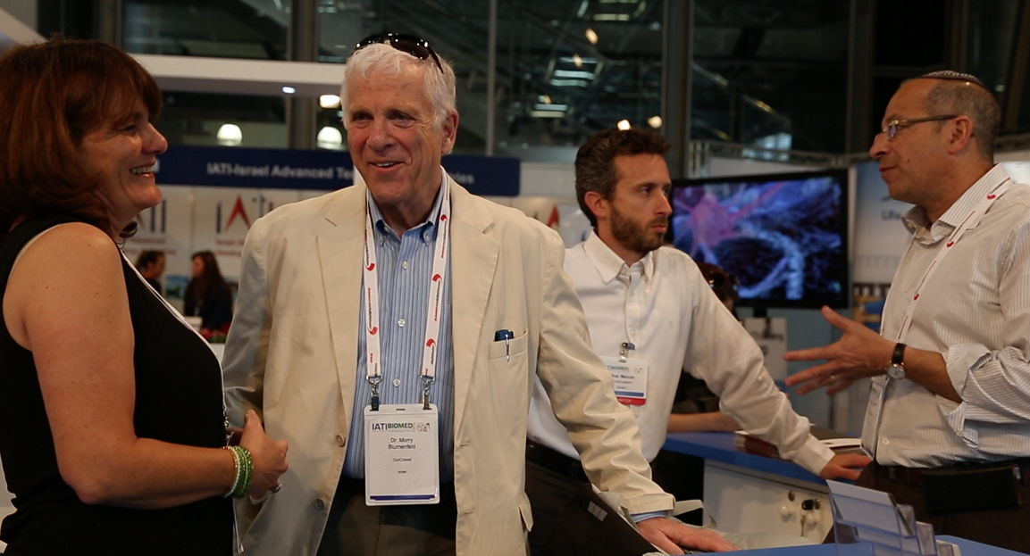 Drs. Morry Blumenfeld and Morris Laster at BioMed 2015