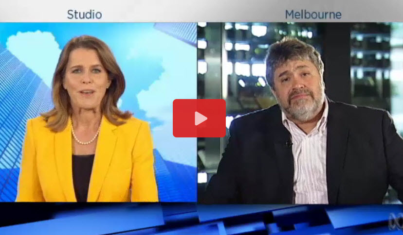Jon Medved for Australia ABC