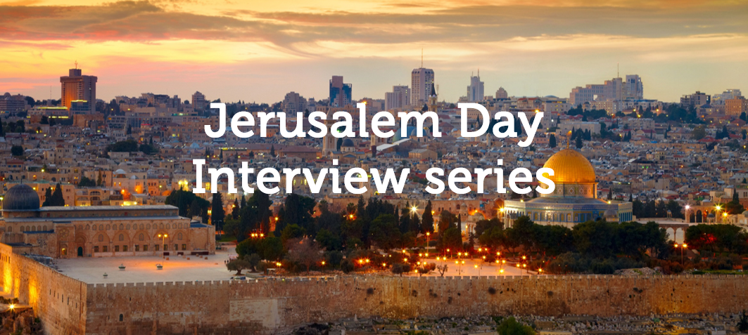Jerusalem Day Interview Series: Itzik Ozer of the Jerusalem Development Authority