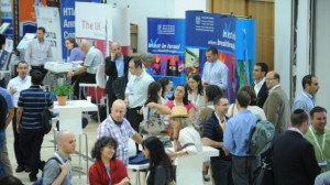 The scene at the HTIA 2012 conference