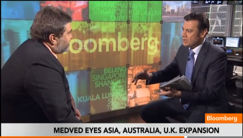 OurCrowd's Jon Medved On Bloomberg TV: Why Are There So Many Startups in Israel?