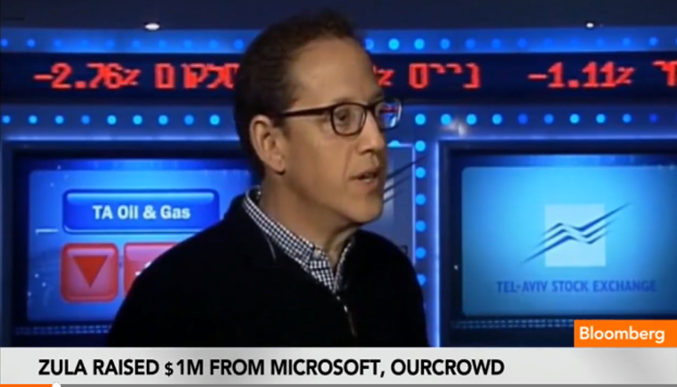OurCrowd's Portfolio Company Zula Featured On Bloomberg TV
