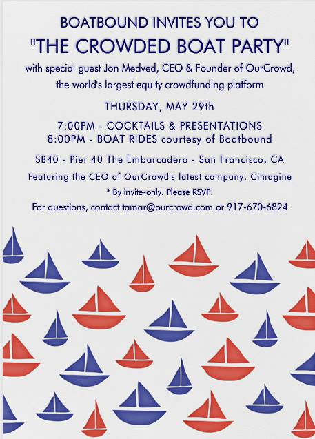 The Crowded Boat Party Thursday May 29th In San Francisco