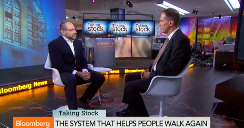 OurCrowd's Portfolio company Argo (ReWalk) Featured on Bloomberg TV