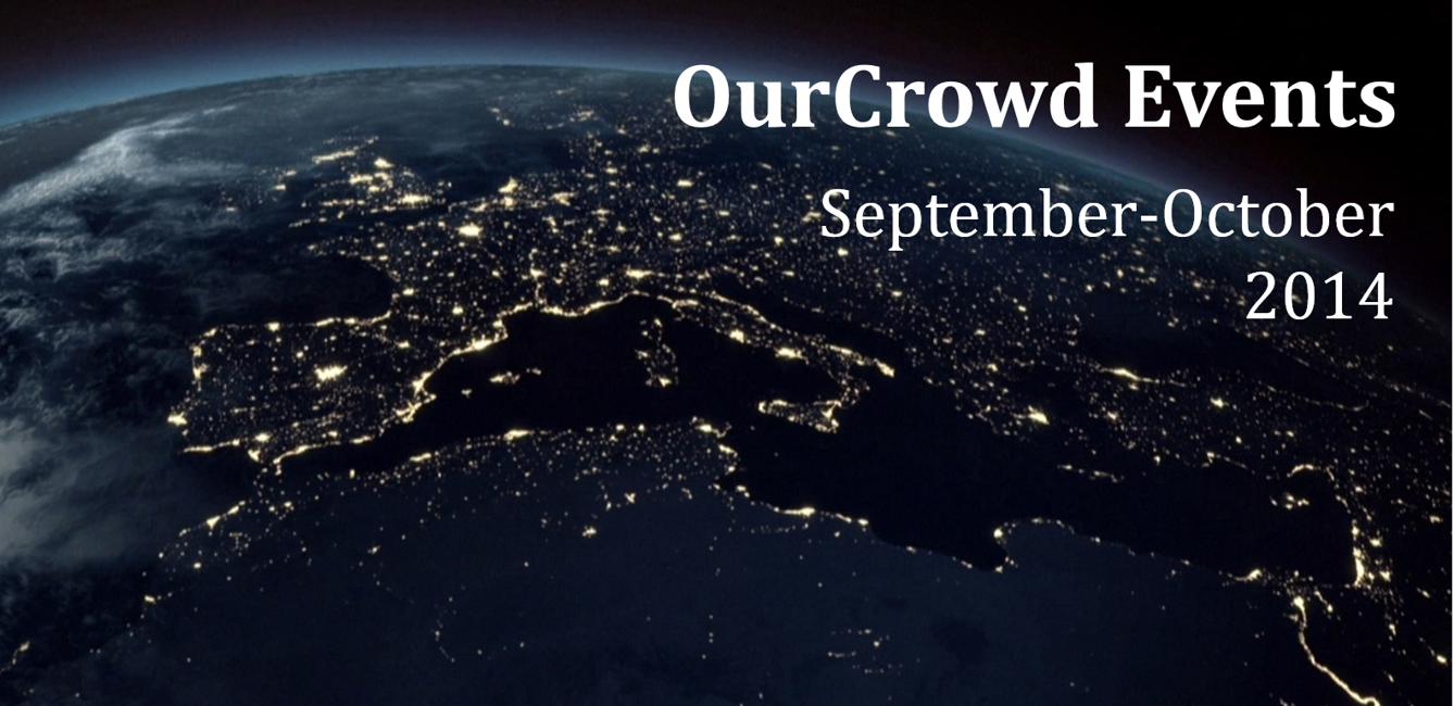 OurCrowd Events September-October