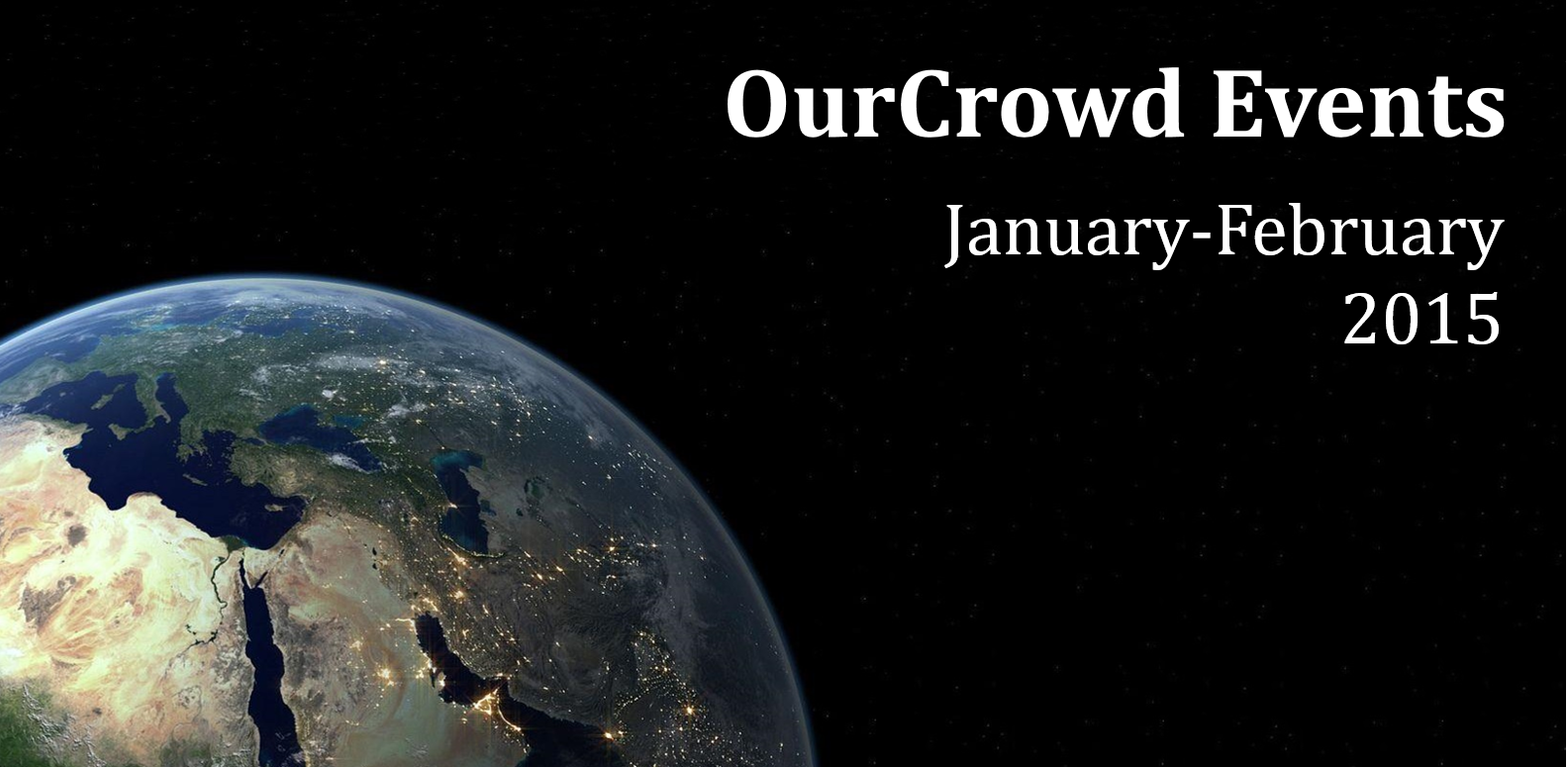 OurCrowd Events January-February 2015