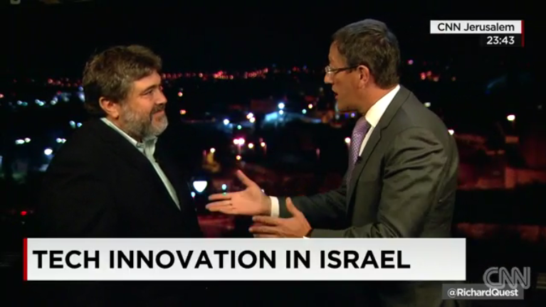 "OurCrowd's Jon Medved featured on CNN: ""The 'beating tech heart' of Israel"""