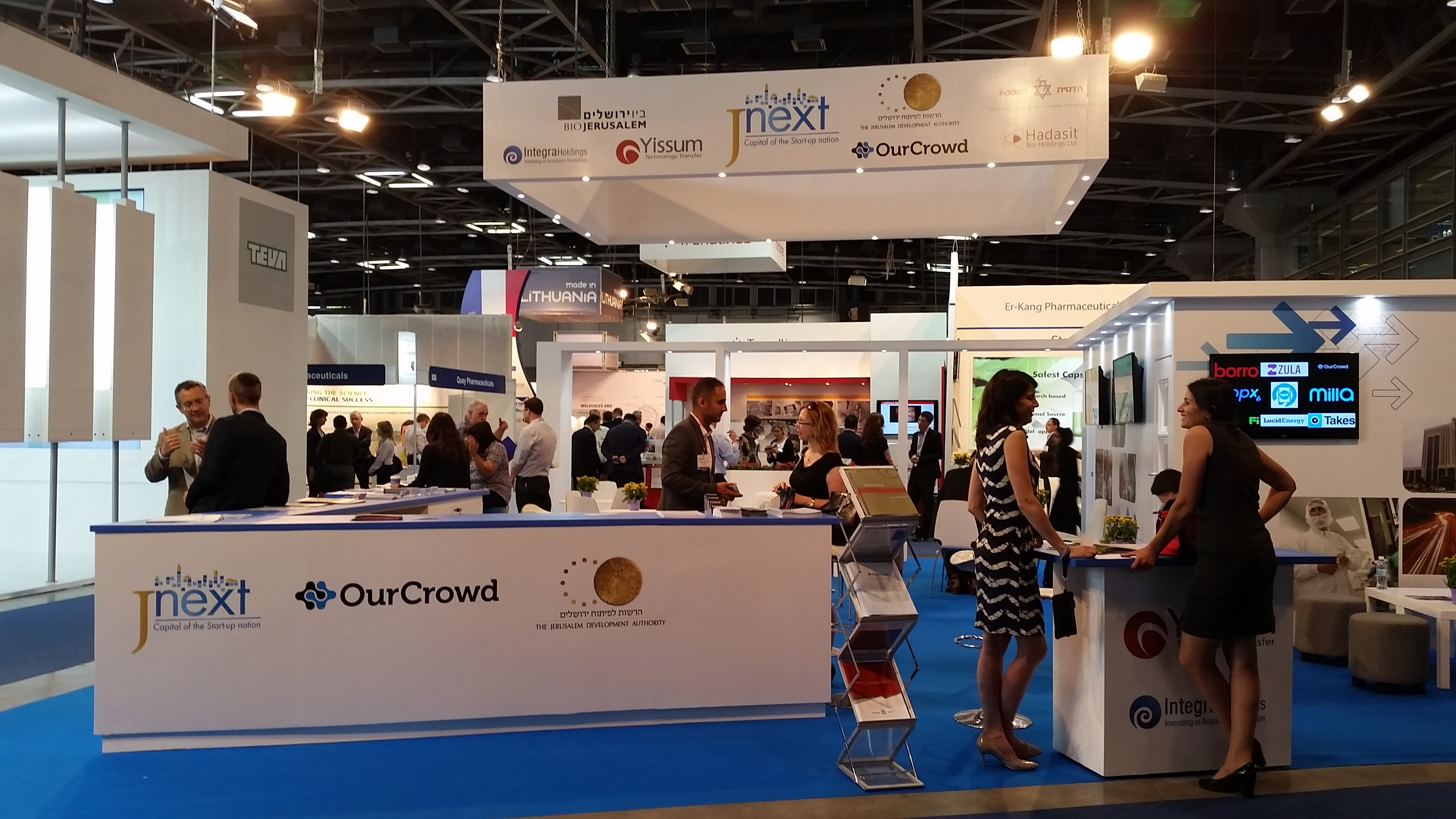 OurCrowd at BioMed 2015