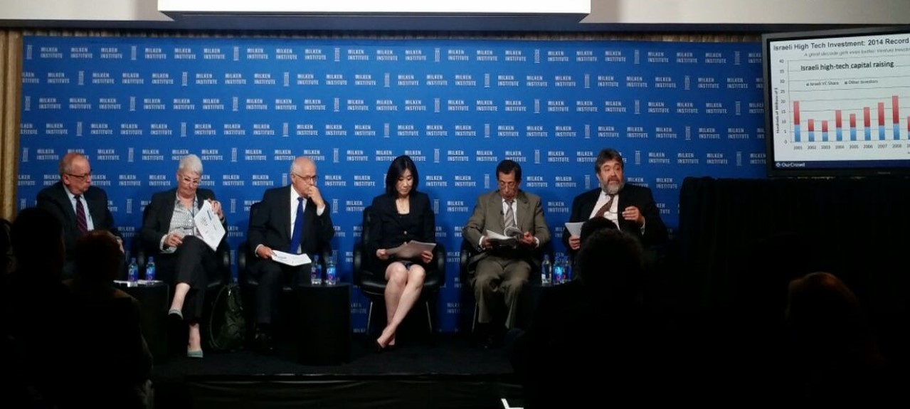 Jon at Milken conf 4.15 - photo