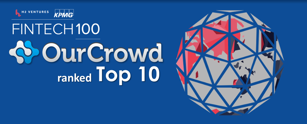 OurCrowd ranked one of the world's top ten most innovative fintech companies