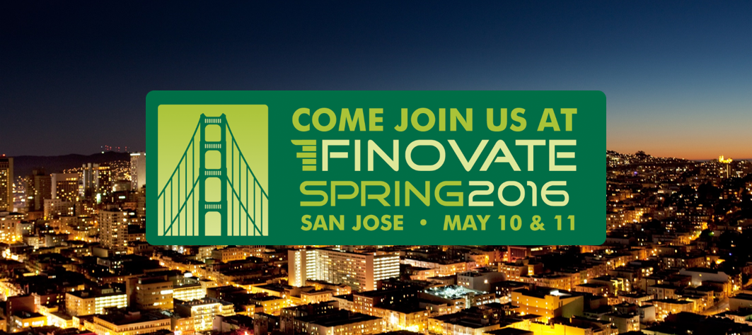 FinTech enthusiasts: Will we see you at Finovate this May?