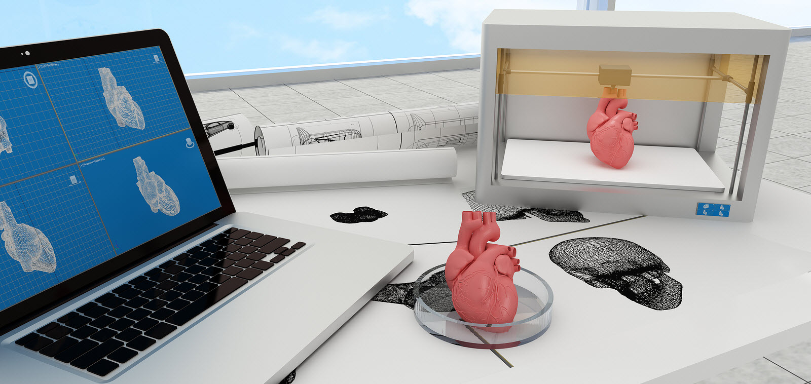 Just Print It: 5 Applications  of 3D Printing Shaping the Future of Healthcare