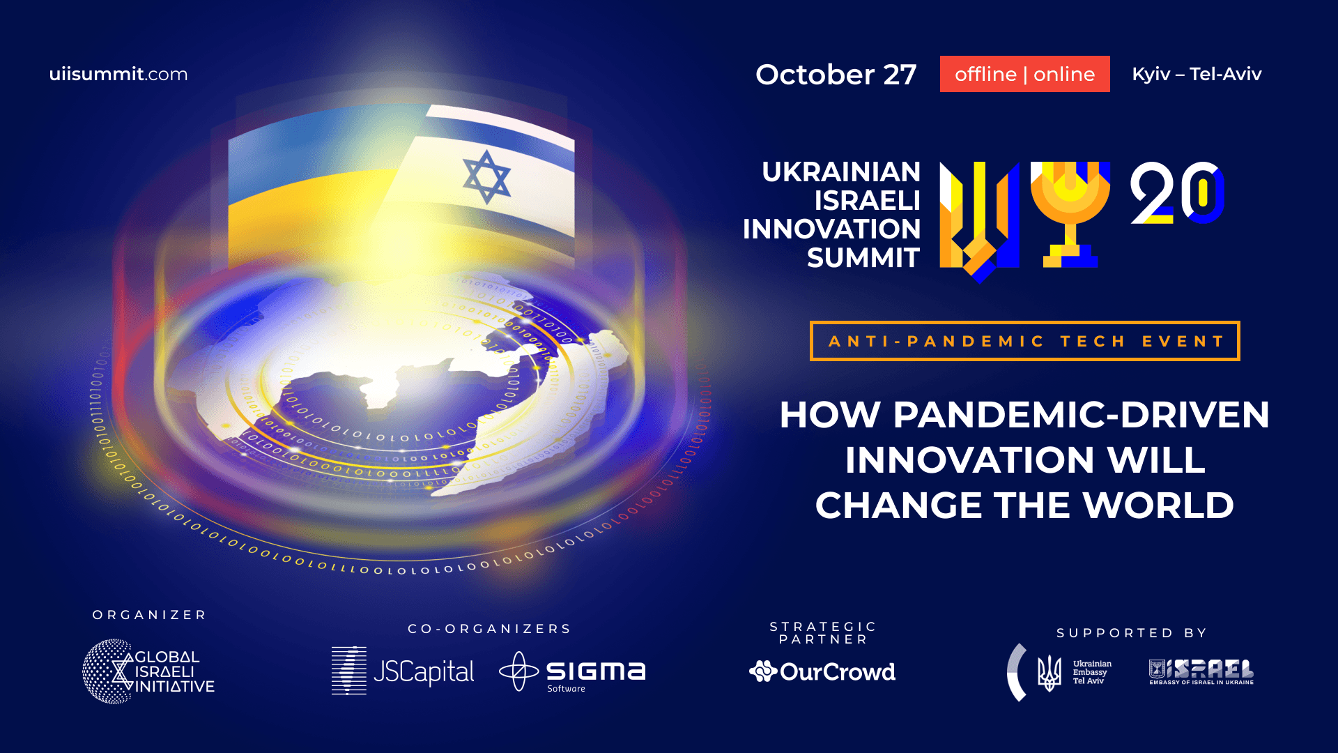 OURCROWD SUPPORTS UKRAINIAN ISRAELI INNOVATION SUMMIT 2020